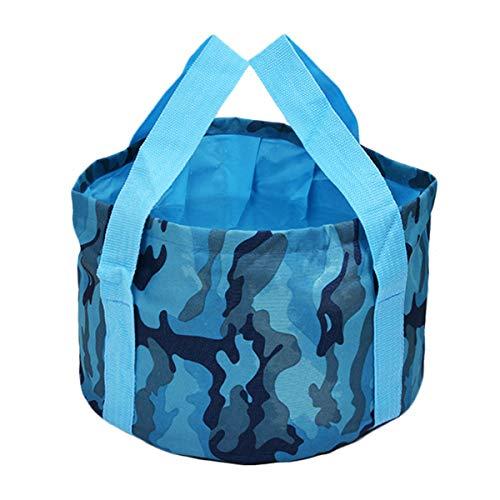 yuhuai Multifunctional Collapsible Portable Travel Outdoor Wash Basin Folding Bucket for Camping Hiking Travelling Fishing Washing