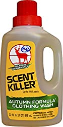 Scent Killer 585-33 Wildlife Research Super Charged Scent Killer Autumn Formula Clothing Wash