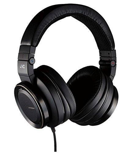 JVC Real Sound System Z Series HA-SZ2000 Stream Woofer DB Headphones (Black, Japan import)