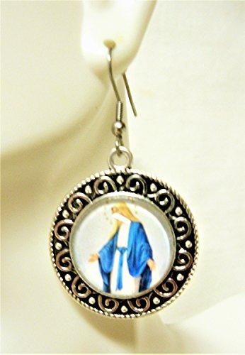Miraculous medal earrings - AP06-169