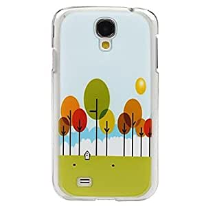 PEACH-Woods Protective Back Cover for Samsung Galaxy S4 I9500