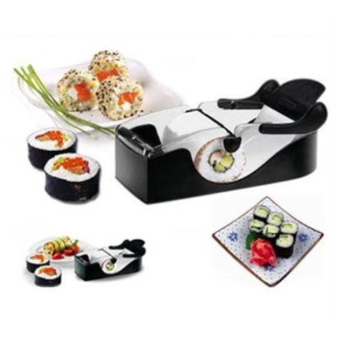 [Sushi Roller Cutter Machine Kitchen Gadgets Magic Maker Perfect Roll Ideas forSushi lovers Enjoy at Party, Home & on a go easy to] (Buzzfeed Easy Costumes)