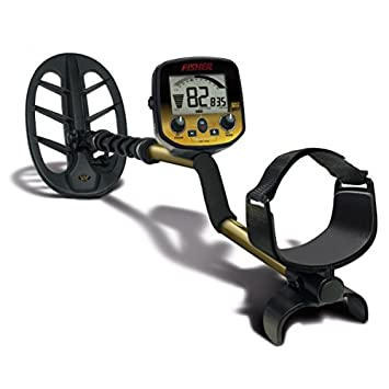 """Fisher Gold Bug-2 Metal Detector with 6 1/2"""" Elliptical Search Coil"""