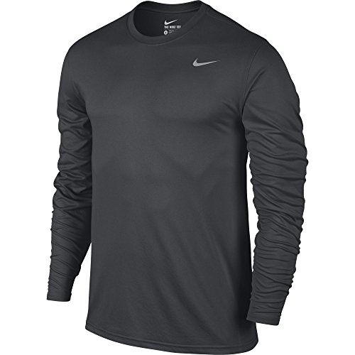 NIKE Men's Dry Training Top Anthracite/Matte Silver Size XX-Large ()