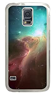 Fire In The Sky Clear Hard Case Cover Skin For Samsung Galaxy S5 I9600