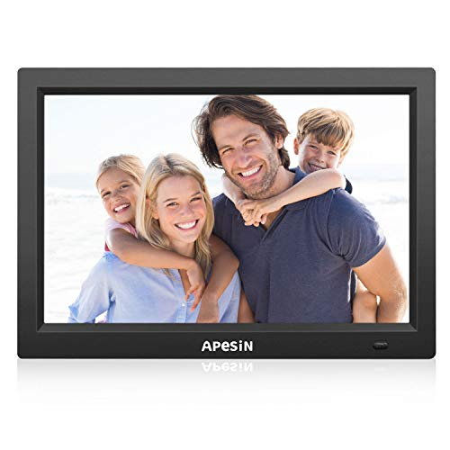 Digital Picture Frame, APESIN 12.1 Inch HD Screen(Black) by APESIN