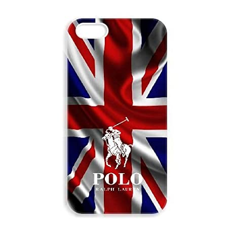JiHuaiGu (TM) iPhone 5 5s funda Polo Ralph Lauren personalizado ...