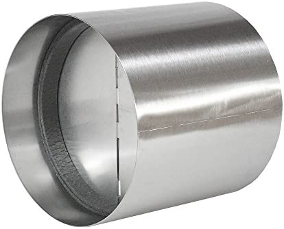 EASYTEC Válvula antirretorno de acero inoxidable diámetro de 180 mm de diámetro: Amazon.es: Grandes electrodomésticos