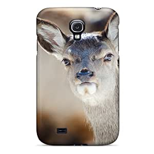 Browncases EtY51fnsT Case Cover Galaxy S4 Protective Case Deer Muzzle