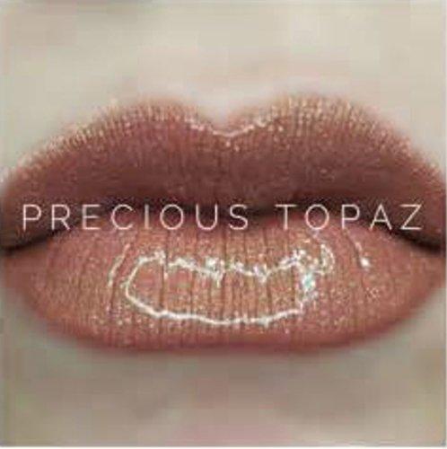 (LipSense Precious Topaz Bundle Trio (1 Lip Color, 1 Glossy Gloss, &1 Ooops Remover) Set)