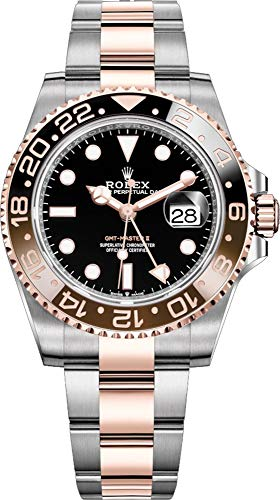 Rolex GMT-Master II Black Dial Automatic Stainless Steel and 18kt Rose Gold 126711CHNR (Rolex 2018)