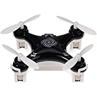 Kids 2.4GHz 4CH Quadcopter Headless Mode 6 Axis Gyro RC Drone Hexacopter With Hovering Mini Aircraft Toy Black