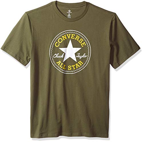 Converse Unisex-Adult's Men's Chuck Patch T-Shirt, Field Surplus, M