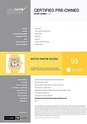 Cartier Panthere de Cartier Quartz Male Watch W25014B9 (Certified Pre-Owned) by Cartier