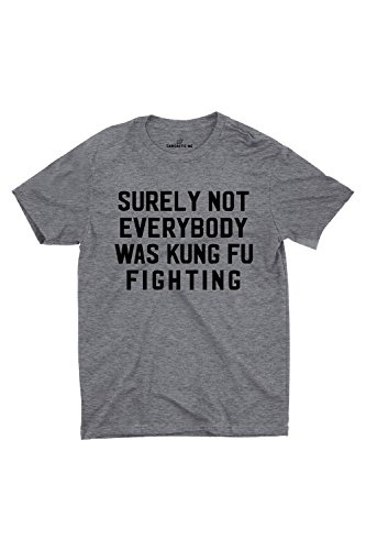 Surely Not Everybody Was Kung Fu Fighting Sarcastic ME Unisex Gift Idea Funny Hilarious T-shirt
