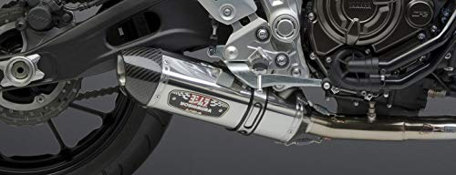 (Yoshimura TRS Tri-Oval Carbon Fiber Street Bike Complete Exhaust System - Suzuki GSX1300R Hayabusa 2008-2009)