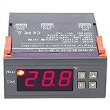 MH1210F Digital Temperature Control Controller Thermostat AC 110V -58~194℉Fahrenheit Relay with Sensor for 3D Printer,Freezer,Fridge