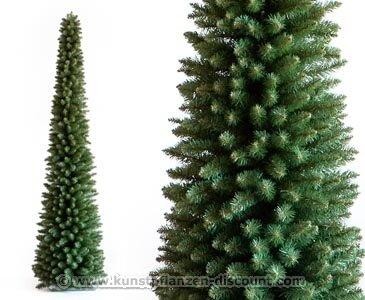 Kunstpflanzen Discount künstlicher weihnachtsbaum säule höhe 210cm säulenförmiger