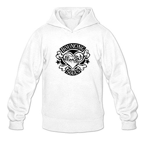 Tommery Men's The Bouncing Souls Logo Long Sleeve Sweatshirts Hoodie ()