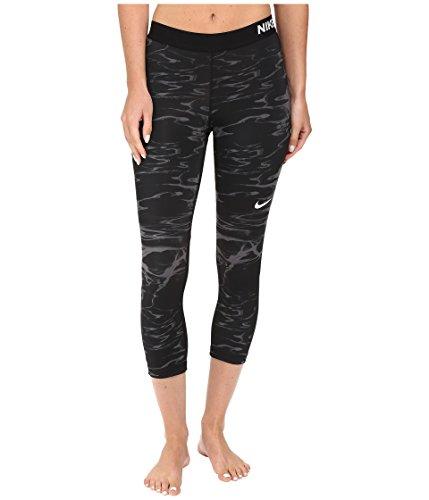 Nike Pro Cool Pool Print Training Capri Dark Grey/White Women's Capris Size L