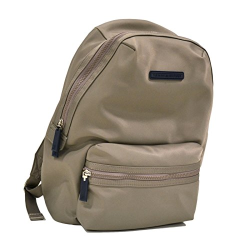 Tommy Hilfiger Laptop Nylon Backpack (Beige)