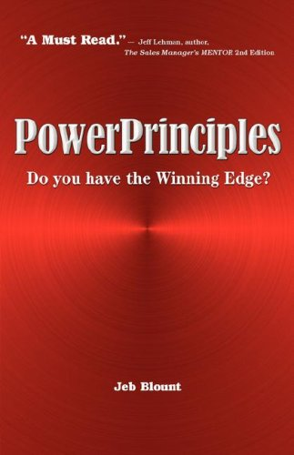 How will you gain the Winning Edge to accomplish your goals and reach your dreams? In life, business and sales there are five principles that, when put into action, virtually guarantee success. The five PowerPrinciples are proven and indisputable suc...