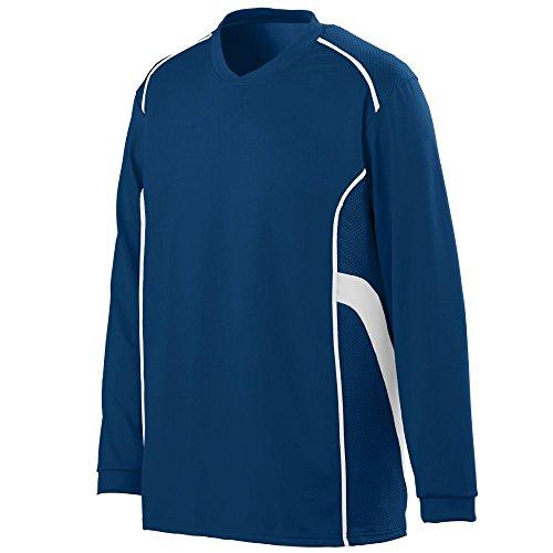 Augusta Sportswear MEN'S WINNING STREAK LONG SLEEVE JERSEY L Navy/White ()
