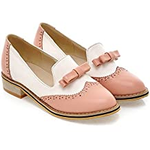 Casual Flats Women Low heel Office Shoes Slip On Loafers Woman Oxfords Career Flat Shoes Plus Size
