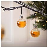 Ama-store Christmas Tree Decorations 6 Pack Booze Filled Christmas Tree Ornaments Water Bottle Milk Juice Bulbs Cup Christmas Balls Ornaments Baubles Set Xmas Tree