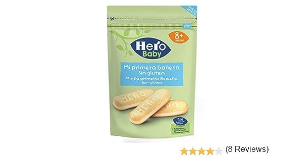 Hero Baby Mi primera Galleta sin Gluten de Fácil Disolución para ...