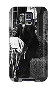 New Galaxy S5 Case Cover Casing(pHot Sellingography Black And White)