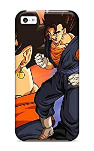 Series Skin Case Cover For Iphone 5c(goku And Vegeta )