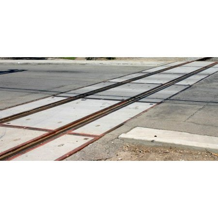 BLMA Models N Scale Modern Grade Crossing Extension, Concrete by BLMA MODELS