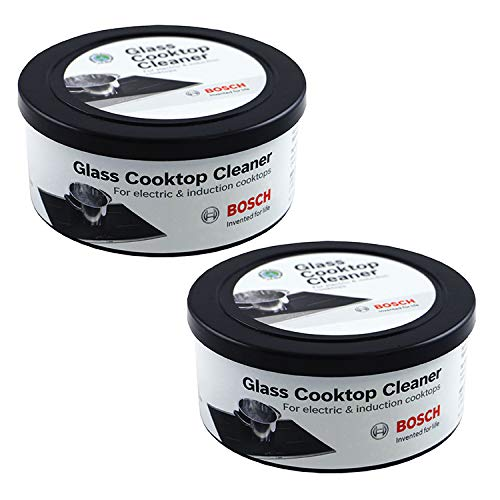 Bosch 12010030 Glass Cooktop Cleaner For Electric & Induction Cooktops Set of Two 12-ounce - Range Maytag Smoothtop