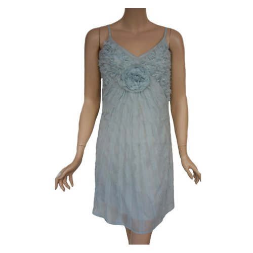 Knielang Blue Cream Kleid 61265 Pearl Damen qx8w0U86