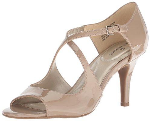 - Bandolino Women's MAGGIORA Heeled Sandal, Cafe Latte, 8 M US