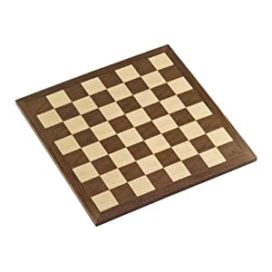 "16"" Walnut Chess Board - 41Qk12mxjJL - 16″ Walnut Chess Board"
