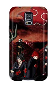 Premium Tpu Akatsuki Cover Skin For Galaxy S5