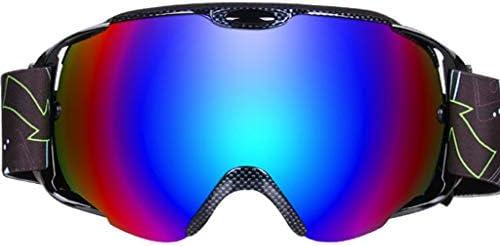 スキーメガネ、二重防曇大球面スノースキーゴーグル登山スキーゴーグル