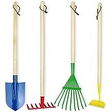 Click N Play Kids 4 Piece Big Gardening Tool Set
