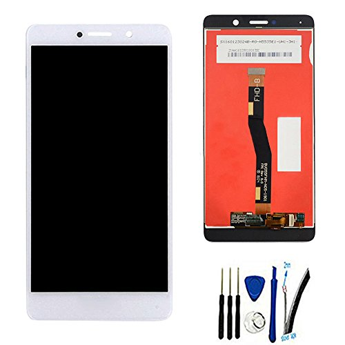 LCD Display Screen digitizer Touch Assembly For Huawei GR5 2017 BLL-L21 BLL-L22 W/ honor logo white