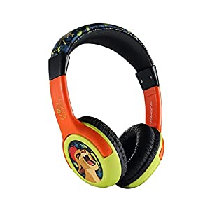 Disney Lion Guard Stereo Wired Headphones Headset Adjustable Earphone by Volcano