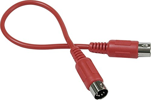 Hosa MID-303RD MIDI Cable Red 10 ft.
