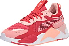The PUMA® RS-X Toys sneaker brings retro style in a fun and exciting way. RS sneakers feature bold pops of color for a dynamic, retro finish. Uppers feature a mesh design.  Lace-up closure provides a secure fit. Molded foam heel counter helps...