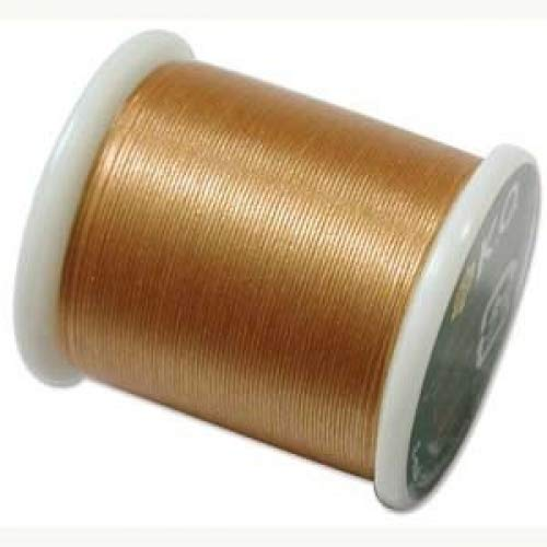 1 X Japanese Nylon Beading Thread by KO for Delica Beads GOLD 42765