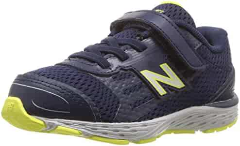 New Balance Kids' 680V5 Hook and Loop Running Shoe