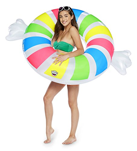 BigMouth Inc Giant Inflatable Penny Candy Pool Float, Novelt