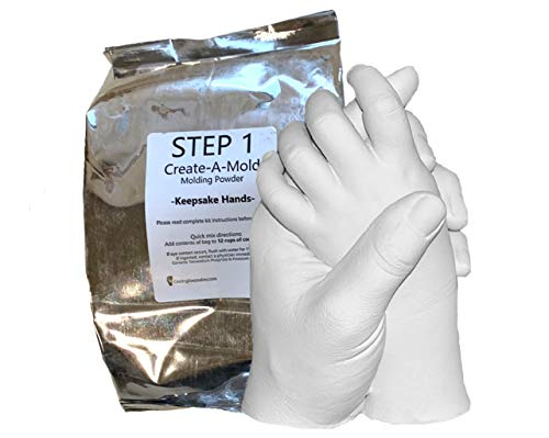 Life Casting - Refill Powder - for Luna Bean Keepsake Hands Plaster Statue Kit (Step 1 Only)