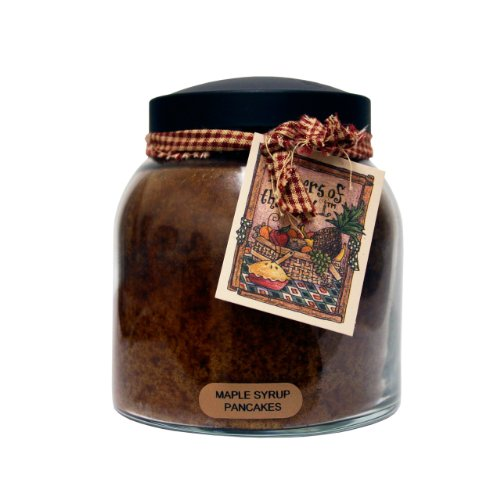 A Cheerful Giver Maple Syrup Pancakes Papa Jar Candle, 34-Ounce