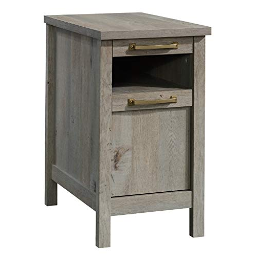 Bedroom Oak Accent Table - Sauder 422877 Cannery Bridge Side Table, L: 14.37